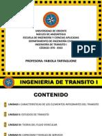 Tema I. Ingenieria de Transito
