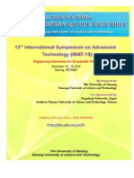 Official Circular of ISAT13