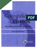 Contabilidad de Costos de Pedro Zapata