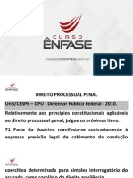 i207 Exercicios-cespe-dpu Material Processo-penal 1705