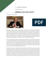 Y Si El Problema Son Los Ricos_José Nun