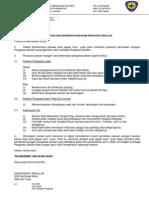 Surat Makluman Seragam Pengawas