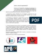 Pronunciamiento sobre desaparición de estudiantes en Ayotzinapa, México.