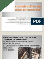 Proceso Constructivo de Una Columna en Concreto