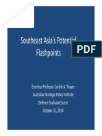 Thayer Southeast Asia's Potential Flashpoints