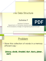 Tries Data Structures (trie)PPT