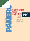 Escribir como escupir - Panero