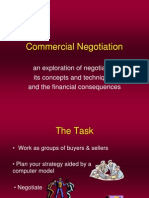 Company Negotiation