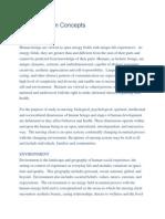 Metaparadigm Concepts
