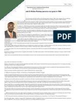 Why the JLP Made Dr Walter Rodney Persona Non Grata in 196