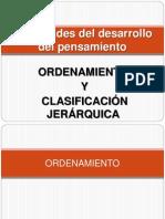 Ordenamiento y Clasificacion Jerarquica