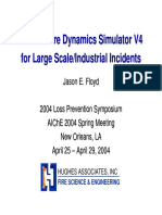 Uses of Fire Dynamics Simulator V4