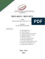 Trabajo Derecho Tributario II - 2014