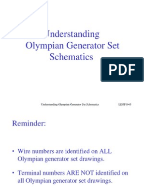 olympian schematics | electric generator | battery charger  scribd