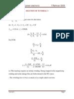 Solution - Tutorial 3