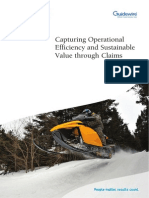 Capturing Operational Efficiency and Sustainable Value Through Claims