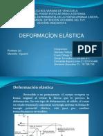 deformacion elatica