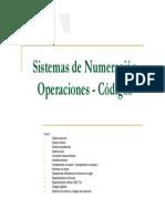 Sistemas de Numeración, Operaciones - Diseño Logico