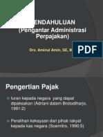 Pengantar Administrasi Perpajakan (1)