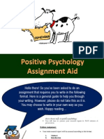 Positive Psychology Assignment Aid