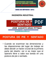 4d Postura de Pie 2012