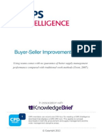 Buyer-Seller Improvement Teams