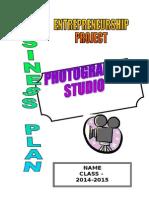 Business Plan Photography Studio