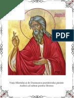 Sfantul Andrei Cel Nebun Pentru Hristos
