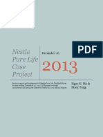 nestle pure life case project