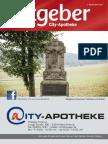 Ratgeber aus Ihrer City-Apotheke – November 2014