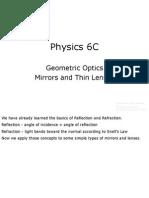 24.1 Physics 6C Geometric Optics.ppt