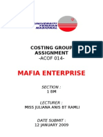 Costing Group Assignment