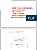 Dc Circuit Anays Is