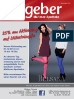 Ratgeber aus Ihrer Malteser-Apotheke – November 2014