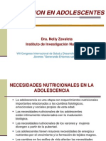 12.Nutricion Adolescentes Dra. Nelly Zavaleta