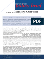 India's Response to China's Rise