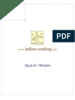 Cooking Book Gujarati Reciepies