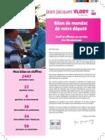 Bilan Du Depute Vlody Octobre 2014