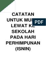 Murid Lewat