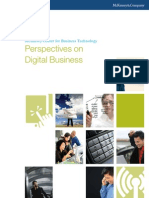 McKinsey - Perspectives of Digital Business