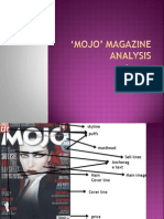 MOJO' Magazine Analysis