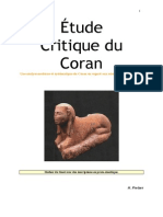 Etude Critique Du Coran