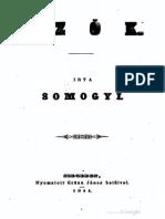 Somogyi Antal - Szók 1844.