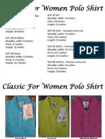 Classic for Women Polo Shirt - 1900.00