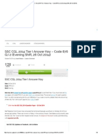 SSC CGL 2014 Tier I Answer Key - Code 876 QJ 2 (Evening Shift, 26 Oct 2014).pdf