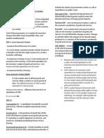Outline for Hetar (Macroeconomics)