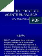 Perfil Del Proyecto Agente Rural Bcp