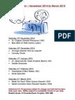 Cinema Ruskin – November 2014 to March 2015