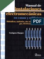 Manual de Instalaciones Electromecánicas