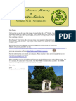 CNHSS Newsletter 46 November 2014